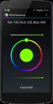 Auswahl der Farbe mit ColorPicker
